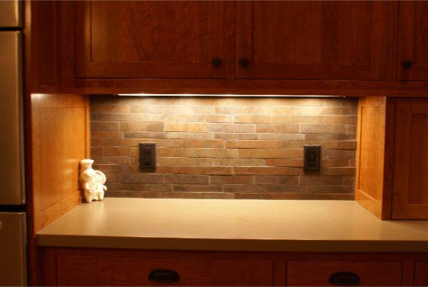 Custom Stone Backsplash Kitchen