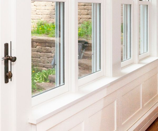 Custom Window Casing And Ledge