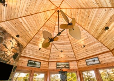 Custom Wood Octagon Ceiling