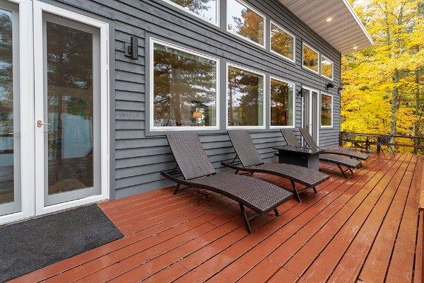 Deck With Sliding Door Remodel