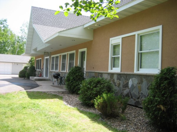 Exterior Remodel Siding And Stone