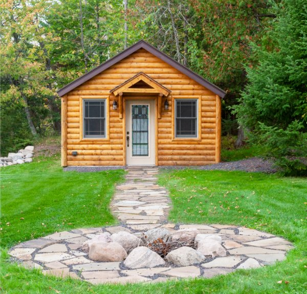 Guest House Log Cabin