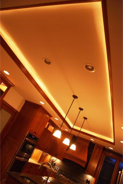 Kitchen Ceiling Ambience Lighting