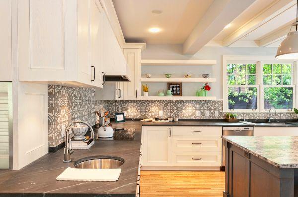 Kitchen Remodel Soapstone Countertop
