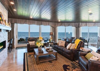 Living Room Windows Lake Superior