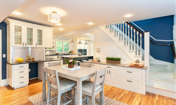 Living Space Remodel Craftsmen Style