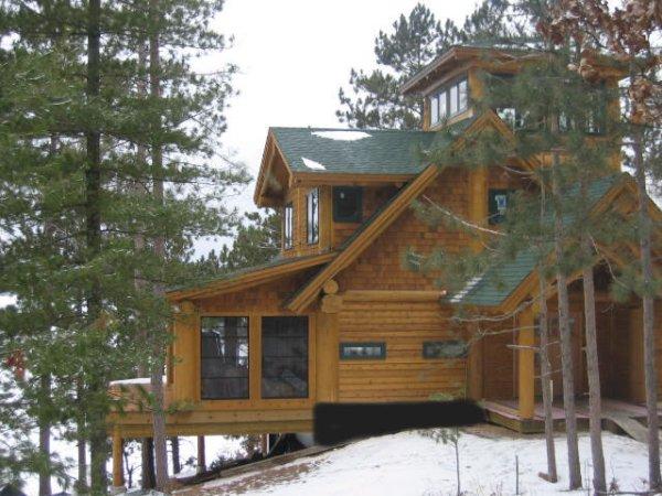 Log Cabin New Construction
