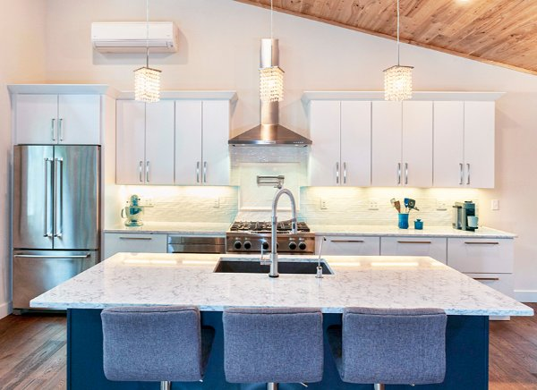 Modern Kitchen Remodel With Huge Island