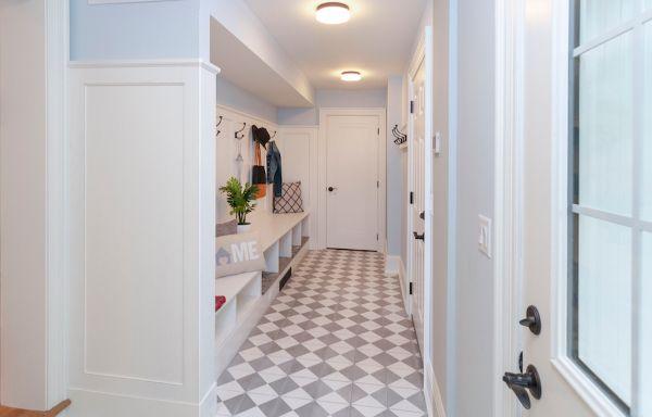 Mudroom Hallway Remodel