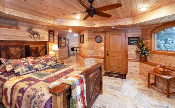 Natural Material Bedroom Custom Build