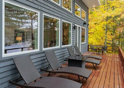 New Deck Addition With Low Maintenance Decking