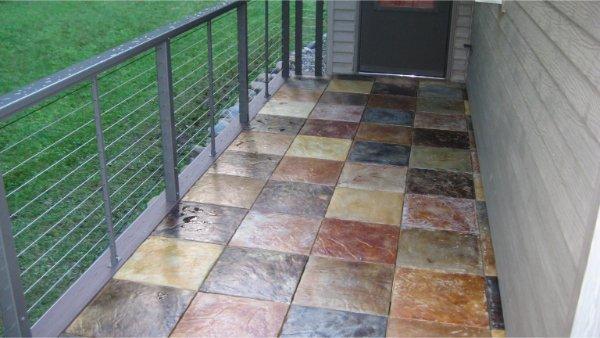 New Deck Concrete Tile