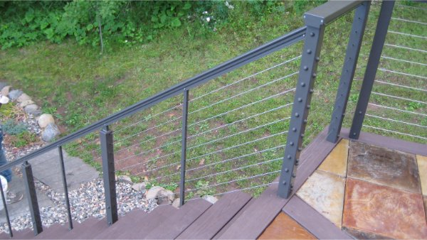New Deck Railing For Stairs