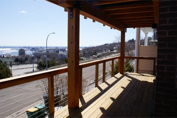 New Deck View Of Lake Superior