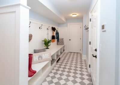 New Entry With Mudroom And Storage