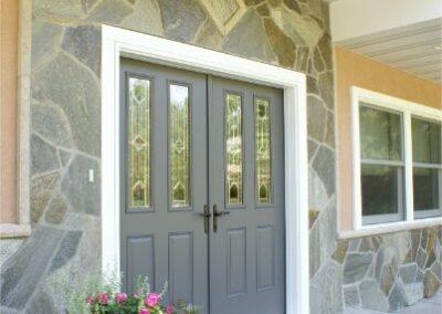 New Front Door Double Remodel