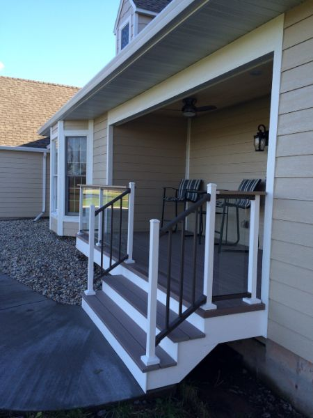 New Front Porch Low Maintenance