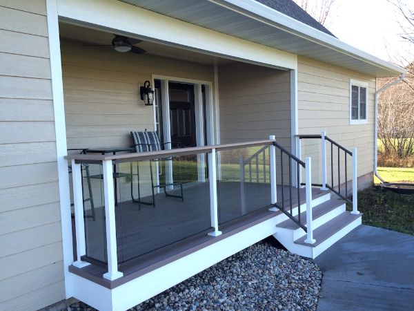 New Home Porch Project