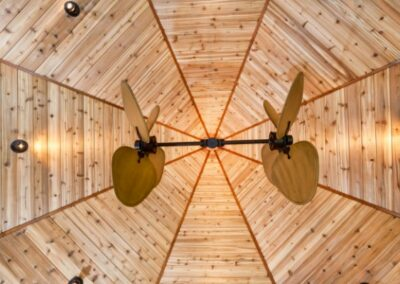 Octagon Wooden Ceiling