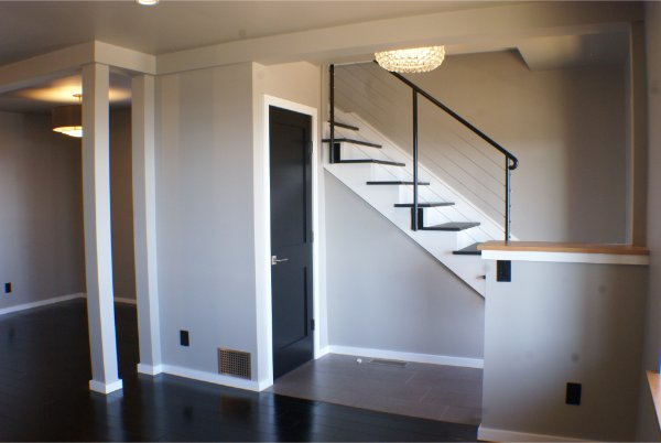Renovation Front Entry With Stairs