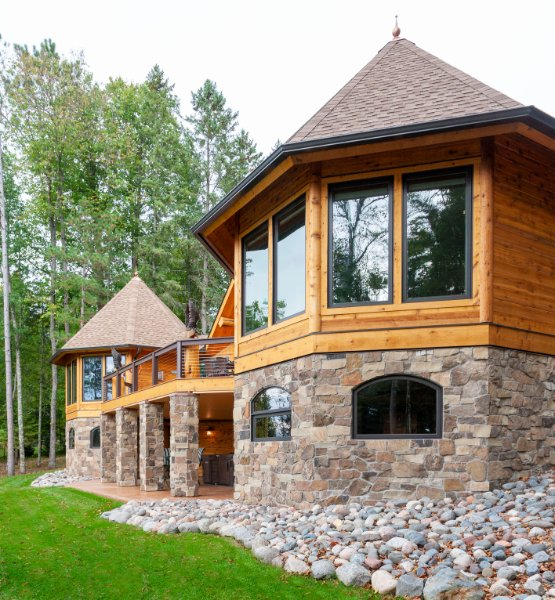 Stone And Wood Fit And Finish Home