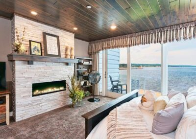 Superior Fireplace Bedroom View