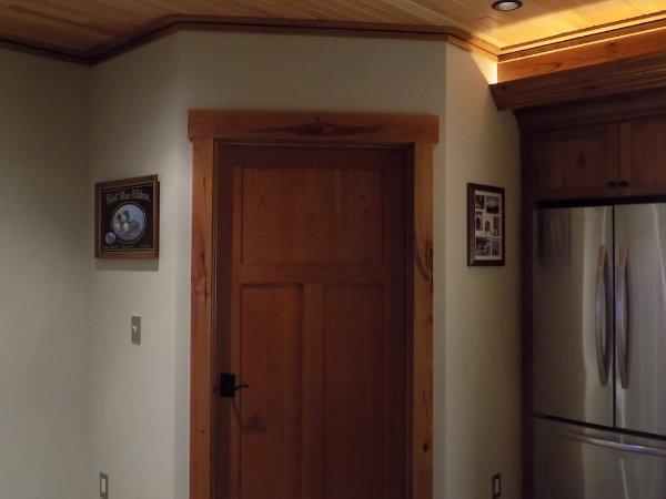 Wood Detail For Doors Ceiling Basement