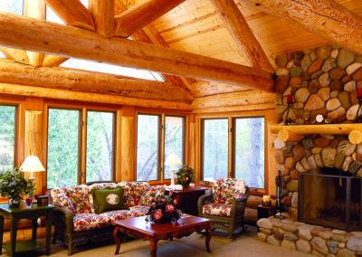 Northwoods Log Home