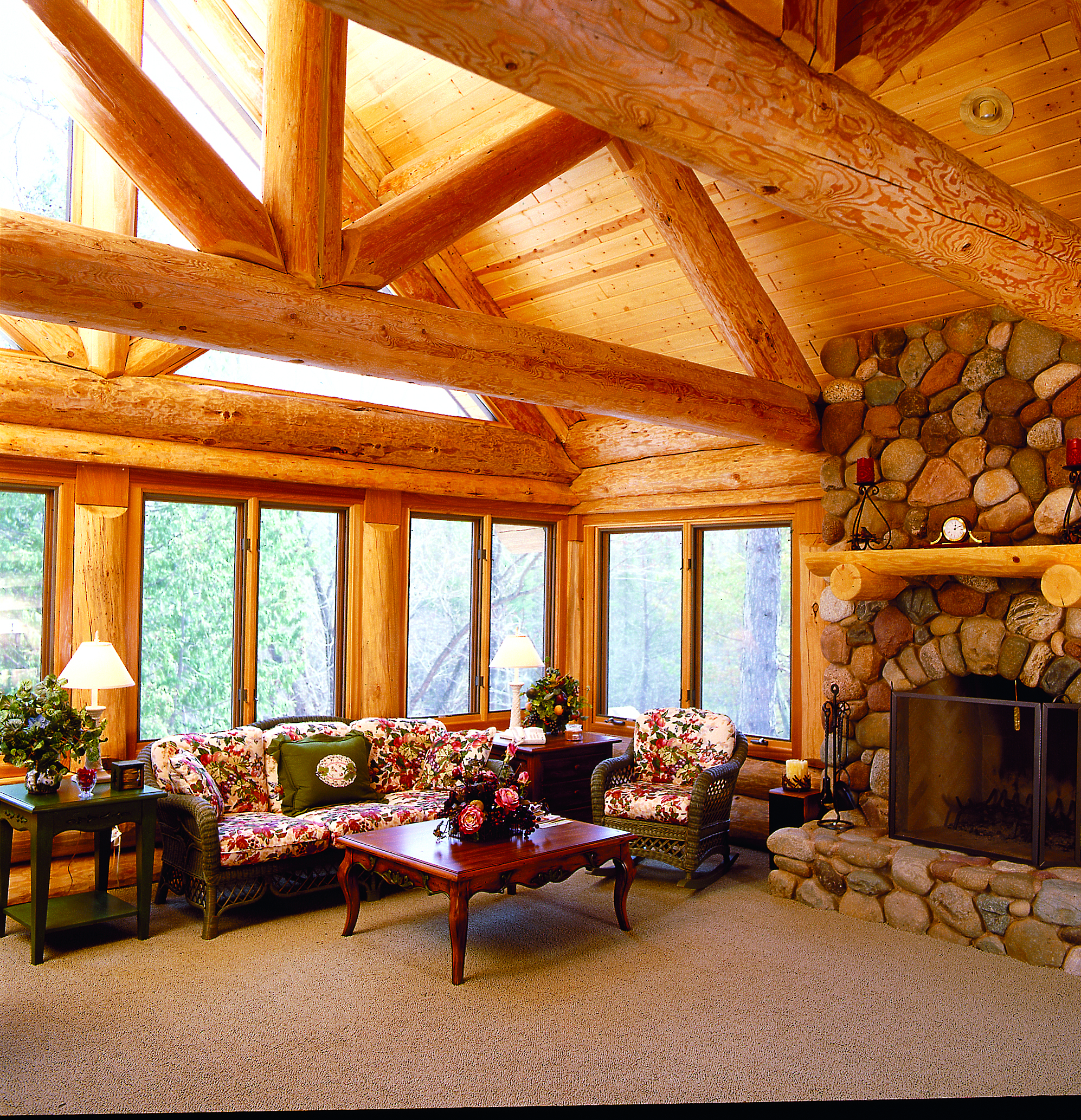 Northwoods Log Home