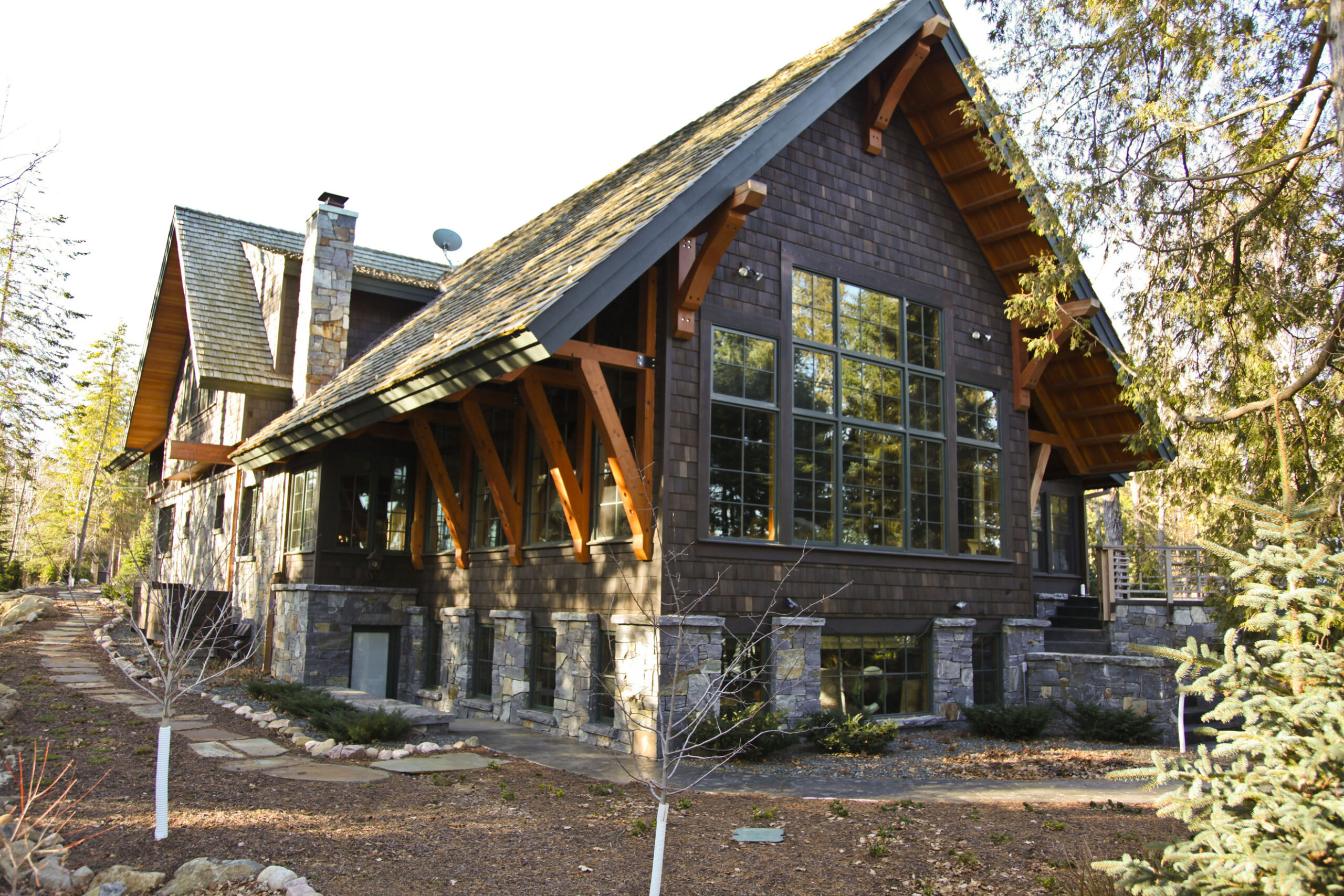 Rustic Craftsmen Home