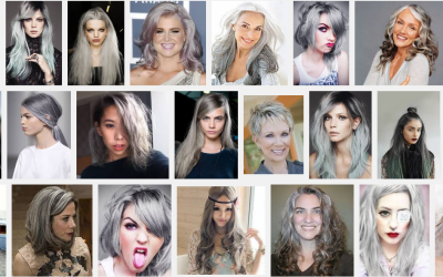 Gray hair is cool!