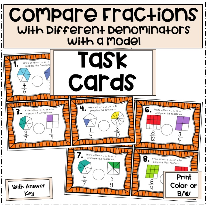 compare-fractions-with-different-denominators-with-models-task-cards-preview-pictures-Slide1