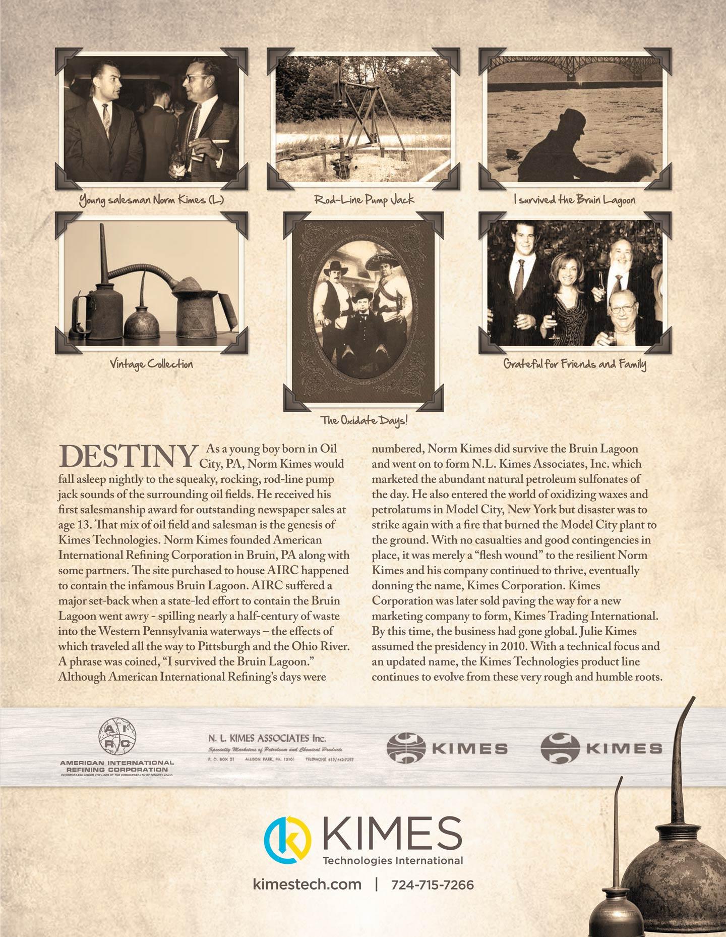 Kimes 25th Anniversary advertisment