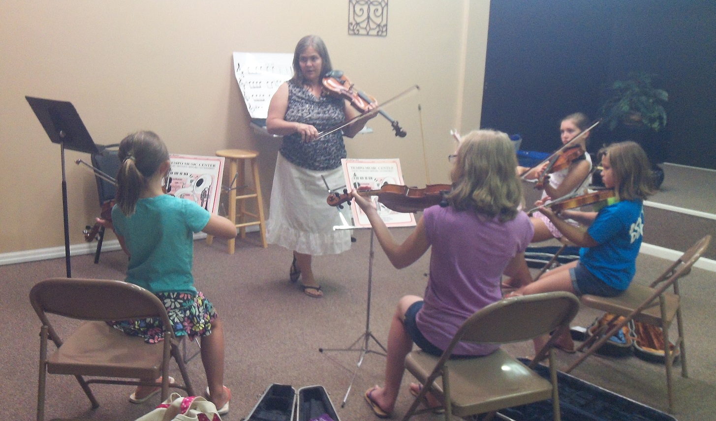 Music Academy of WNC sumemr camp class