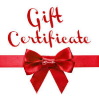 Private Music Lesson Gift Certificates