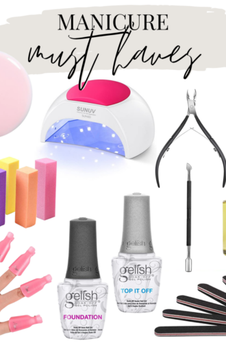 Complete Guide To An At Home Gel Manicure