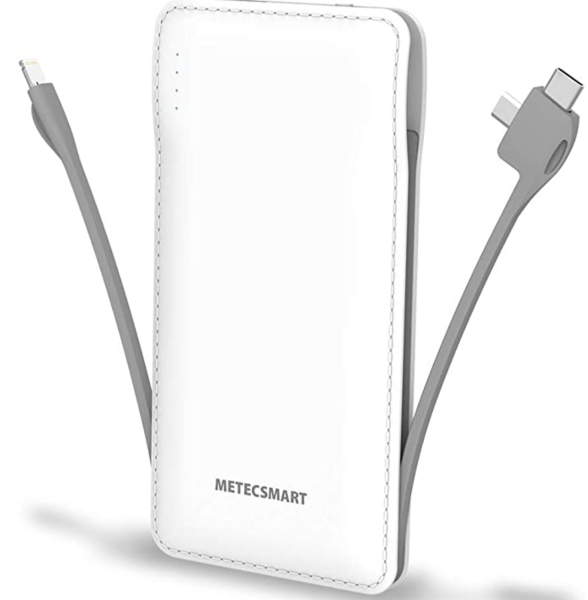 amazon phone charger   Best Amazon Products by popular Houston life and style blog: image of a portable charger with cords.