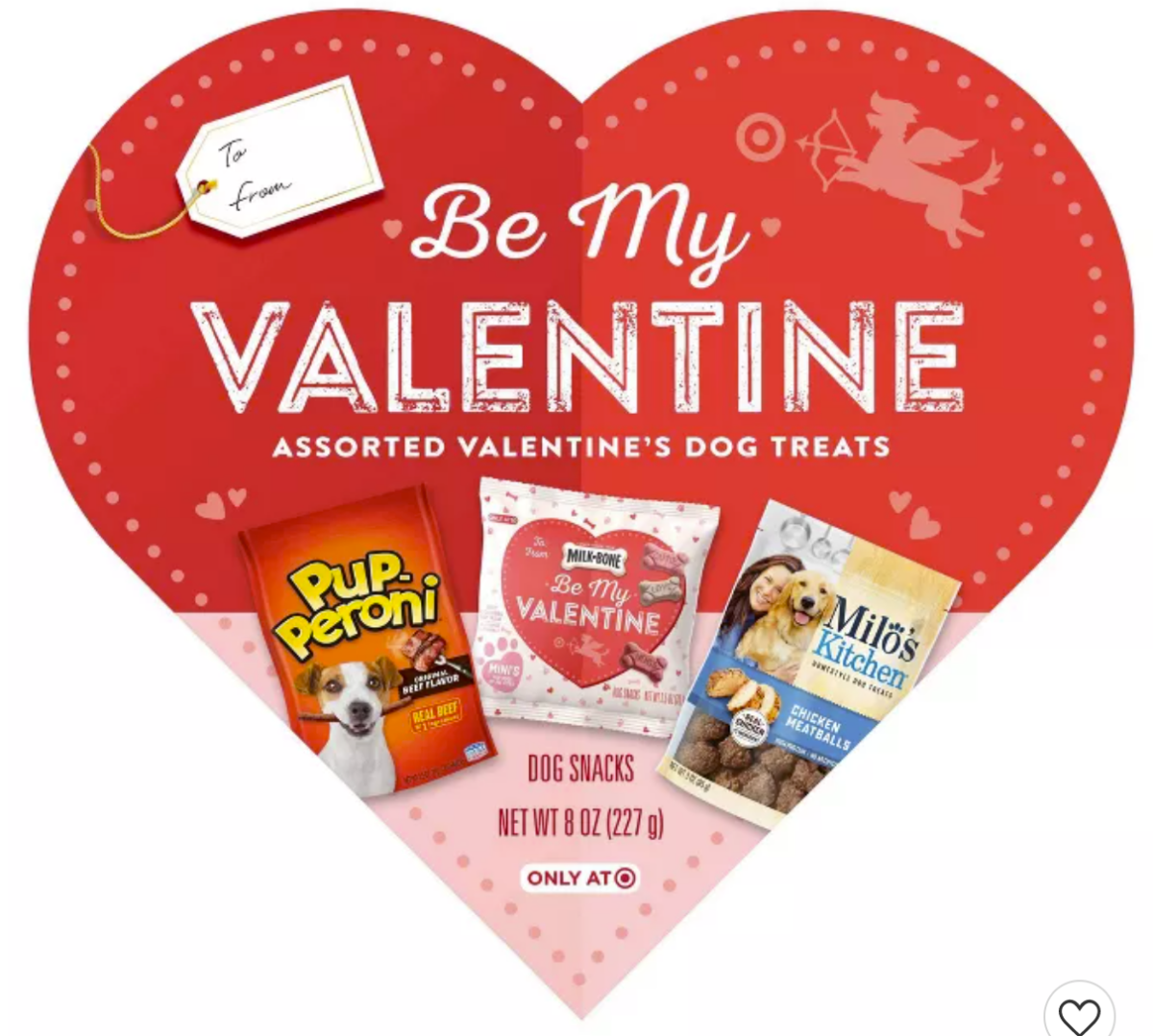 dog valentine |Milk Bone Dog Treats by popular Houston lifestyle blog, Haute and Humid: image of a Milk Bone Be My Valentine assorted dog treats.