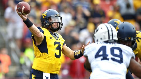 West Virginia is led by quarterback Skyler Howard, who has thrown for more than 3,000 yards on the season
