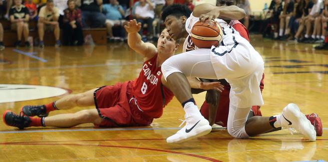 Purdue versus Canada - Basketball