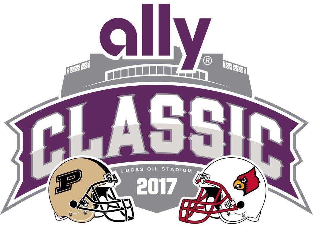 Purdue vs Louisville game logo