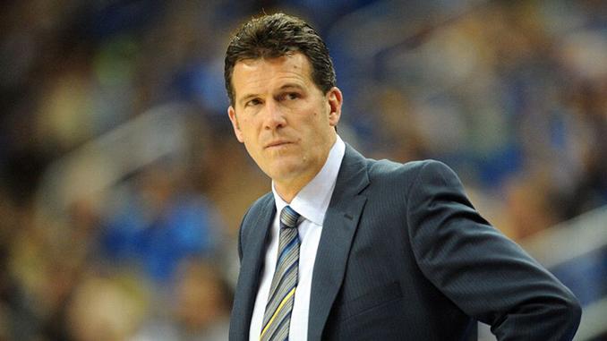 Coach Steve Alford