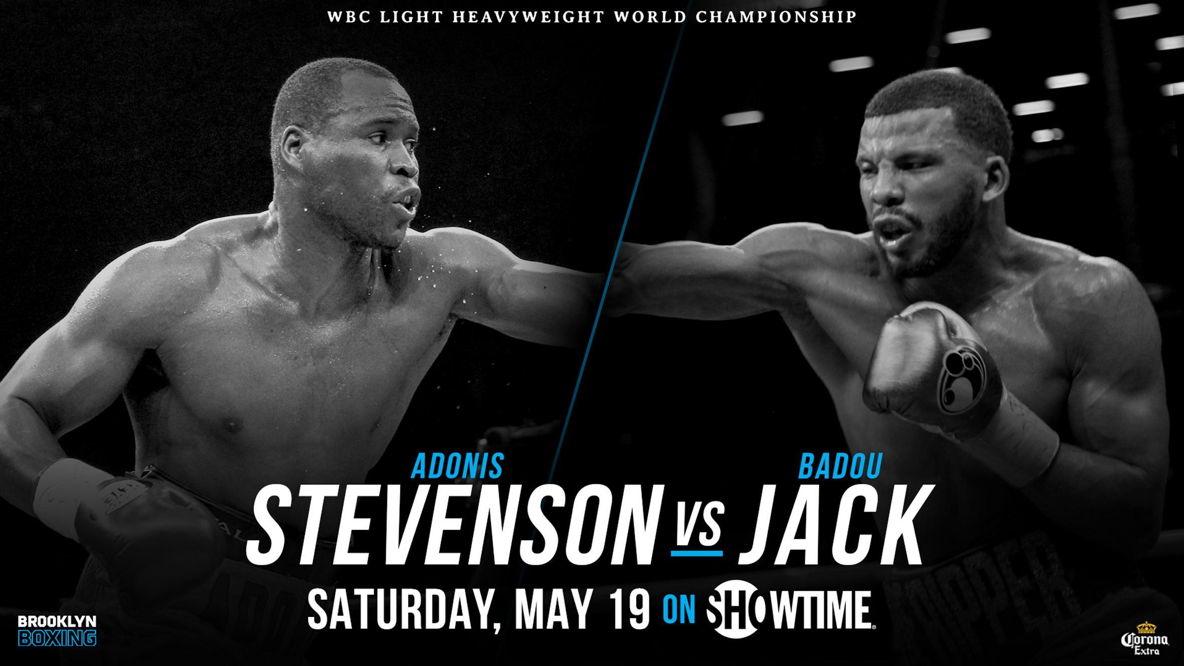 Stevenson vs Jack fight poster