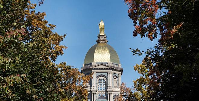 Notre Dame Golden Dome