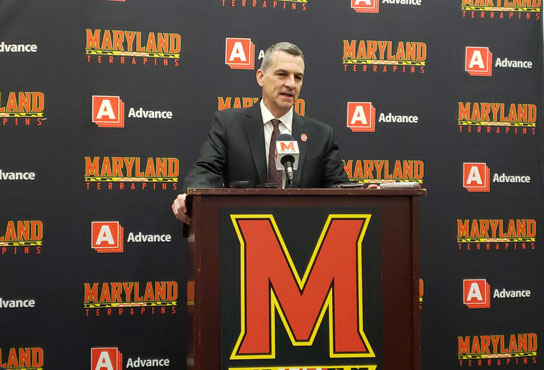 Turgeon Press Conference after win over Radford