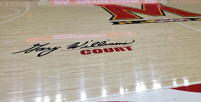 Maryland Basketball Court