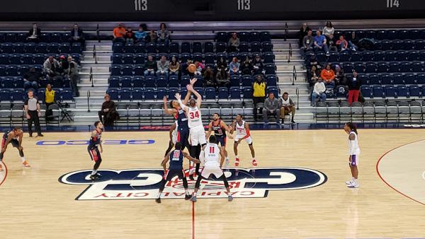 Capital City Go-Go vs Grand Rapids Drive tip - Photo Credit: Marcus Washington