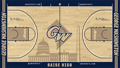 George Washington Basketball court