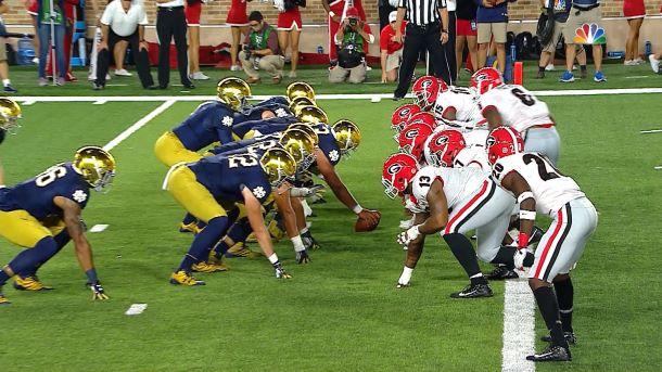 Notre Dame vs Georgia