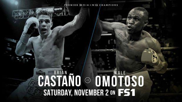 Castano-Omotoso Fight Poster